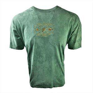 VTG Port Douglas Australia Green Embroidered Tee L